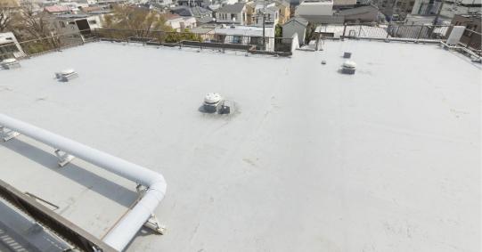 陸屋根には定期的な防水工事を!